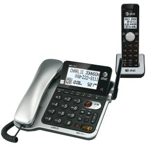 Corded Phones DECT 6.0 Corded/Cordless Phone System with Digital Answering System & Caller ID/Call Waiting