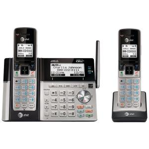 Cordless Phones DECT 6.0 Connect-to-Cell(TM) 2-Handset Phone System with Dual Caller ID