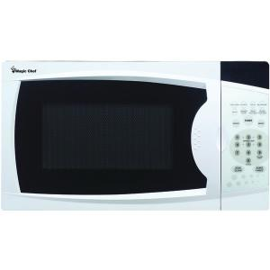 Small Appliances & Accessories .7 Cubic-ft, 700-Watt Microwave with Digital Touch (White)