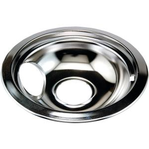 """Range Replacement Elements & Accessories Chrome Replacement Drip Pan for Whirlpool(R) (6"""")"""