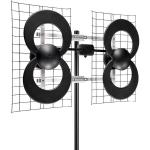 """ClearStream(TM) 4 Quad-Loop UHF Outdoor Antenna with 20"""" Mount"""