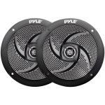 4-Inch 100-Watt Low-Profile Waterproof Marine Speakers