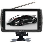 "7"" TFT Portable Digital LCD TV, AC/DC Compatible with RV/Boat"