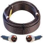Wilson-400 N-Male to N-Male Coaxial Cable, 100ft (Black)
