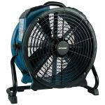 X-47ATR 3,600 CFM Variable-Speed Sealed Motor Industrial Axial Air Mover/Dryer/Blower Fan with Timer and Power Outlets